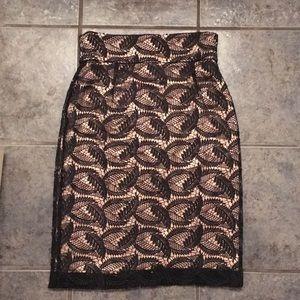 Antonio Melani lace pencil skirt!